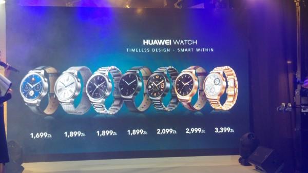 Huawei Watch ceny