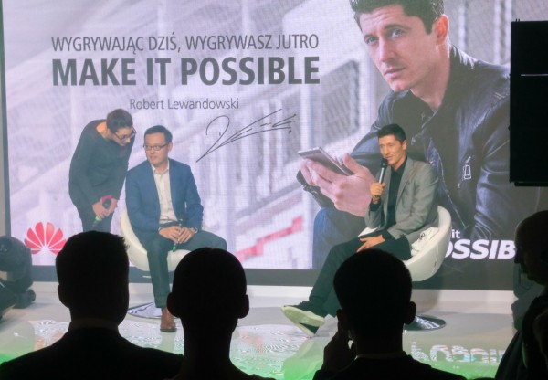 Huawei Watch Robert Lewandowski