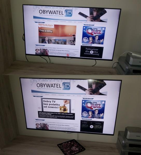 Jak wieszać telewizor 10 - maskowanie kabli