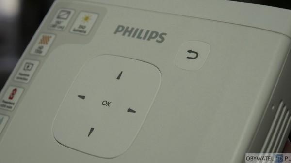 Philips PicoPix 4835 - przyciski