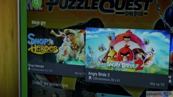 Aplikacja na prezent - Angry Birds 2 Nie na TV