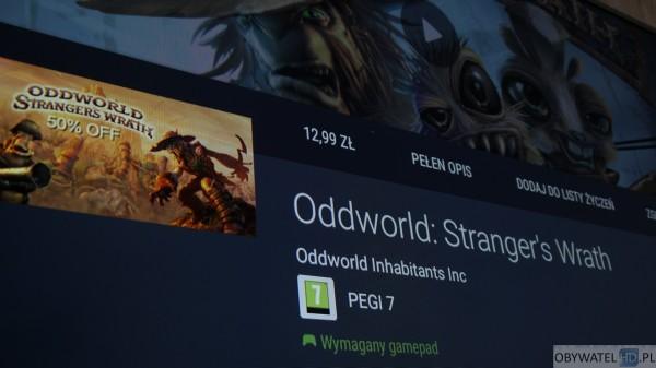 Aplikacja na prezent - Oddworld Strangers Wrath wymagany pad