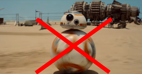 BB8 droid Star Wars Force Awakens