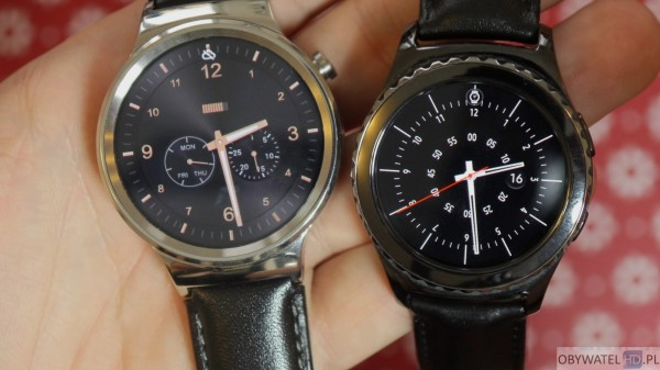 Huawei Watch vs Samsung Gear S2 - zegarki na ręce