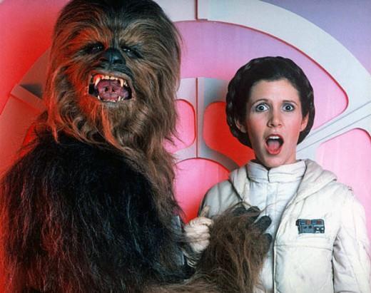 Leia i Chewie