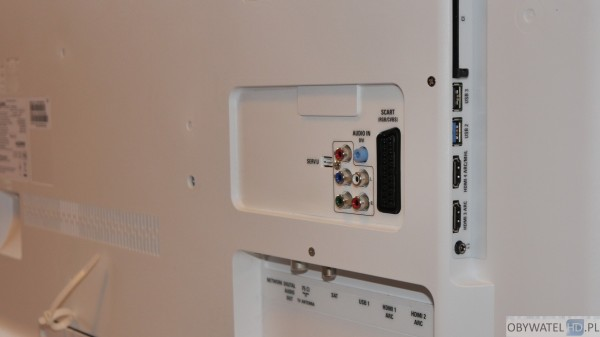 Philips PFK6550 - złącza