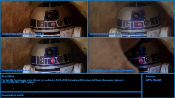 Star Wars Despecialized Edition R2D2