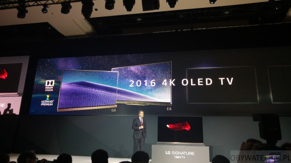 CES 2016 - LG - 2016 OLED TV