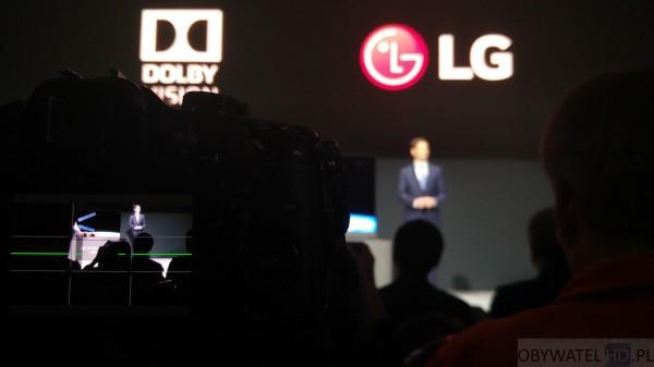 CES 2016 - LG - LG i Dolby Vision z aparatu