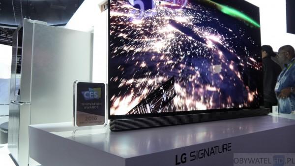 CES 2016 - LG OLED z serii Signature