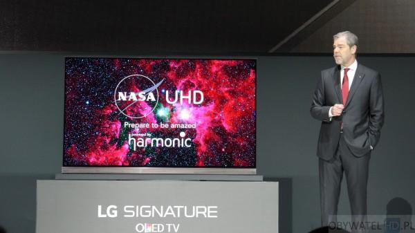 CES 2016 - LG - UHD NASA