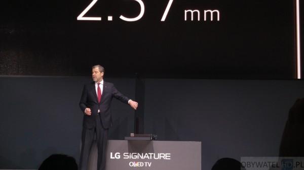 CES 2016 - LG - cienki jak OLED