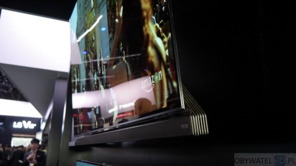 CES 2016 - LG - wieszanie nowych OLEDów