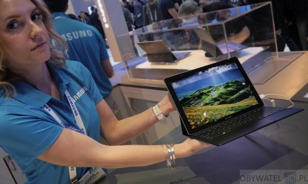 CES 2016 - Samsung Galaxy TabPro S - w rękach