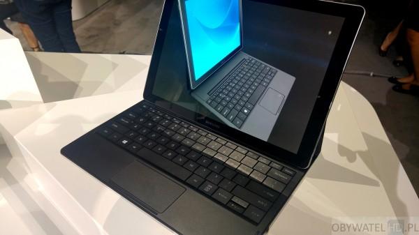 CES 2016 - Samsung Galaxy TabPro S - z bliska