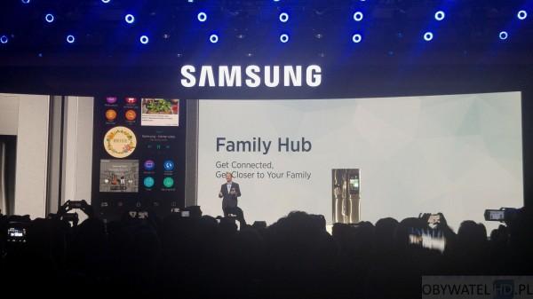 CES 2016 - Samsung - lodówka