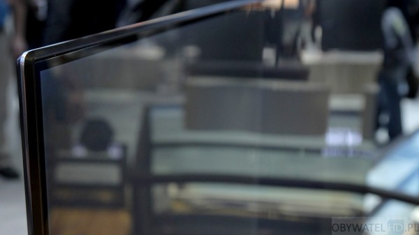CES 2016 - Samsung - mała ramka wokół matrycy
