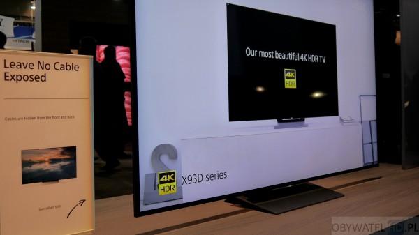 CES 2016 - Sony X93D