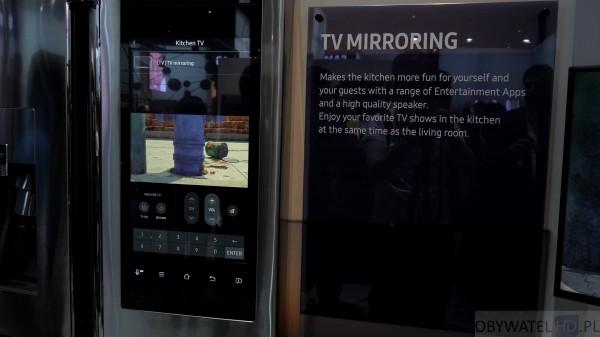 CES 2016 - lodówka z ekranem od Samsunga
