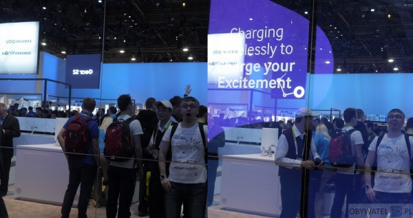 CES 2016 - lustrzany ekran Samsunga