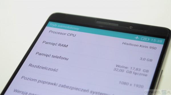 Huawei Mate 8 - Kirin 950