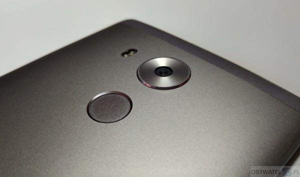 Huawei Mate 8 - aparat i czytnik palców
