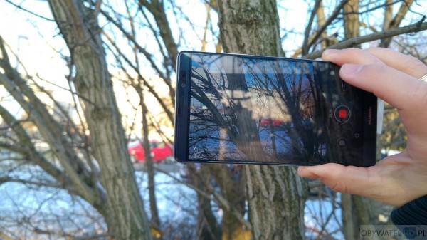Huawei Mate 8 - aparat - nagrywanie filmów