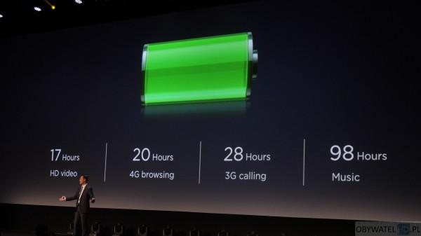 Huawei Mate 8 - bateria