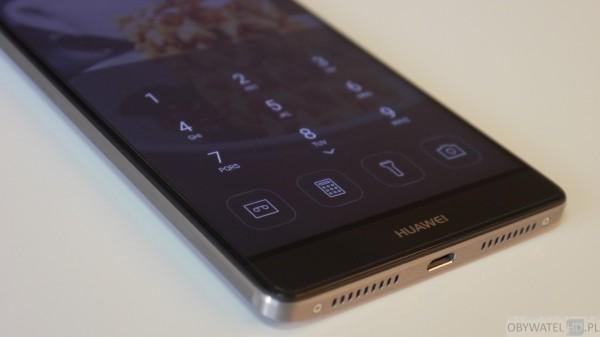 Huawei Mate 8 - dolne menu
