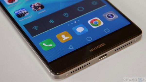 Huawei Mate 8 - głośniki
