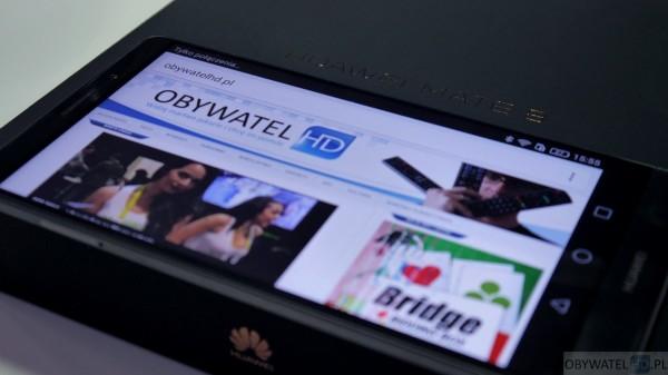 Huawei Mate 8 - pudełko i Obywatel HD