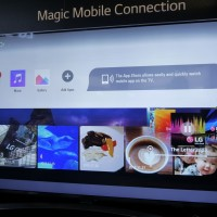 LG webOS 3.0 - Magic Mobile Connection