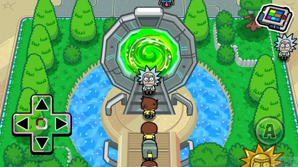 Pocket Mortys - portal