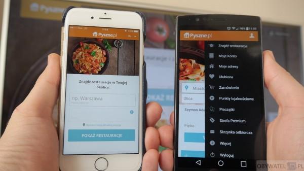 Pyszne.pl - iOS vs Android
