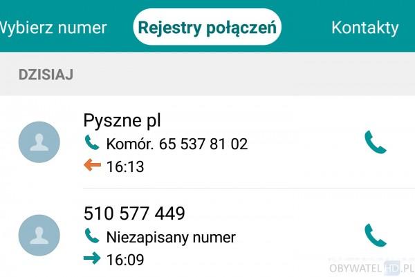 Pyszne.pl - telefony