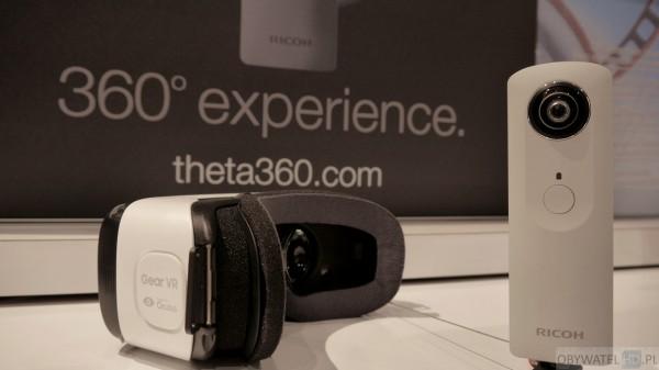 Ricoh Theta S i Samsung Gear VR