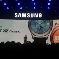 Samsung Gear S2 Classic - Rose Gold i Platinum - konferencja CES 2016