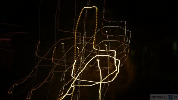 Huawei Mate 8 - malowanie światłem