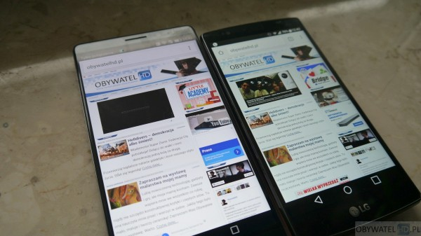 Huawei Mate 8 vs LG G4 - 1440p vs 1080p