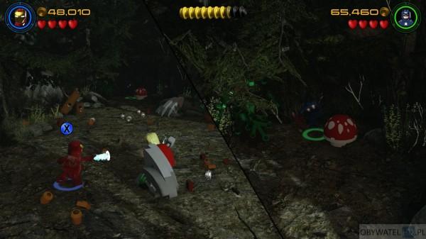 LEGO Marvel Avengers - dzielenie ekranu