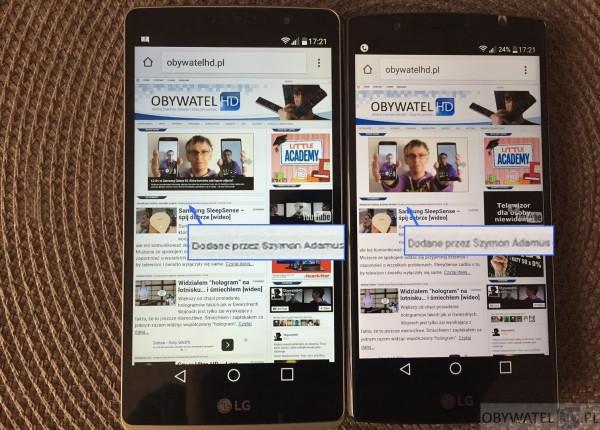LG G4 Stylus vs LG G4