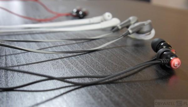 Brainwavz Delta - porównanie z innymi słuchawkami