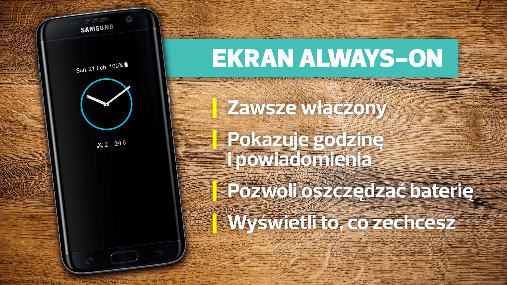 Samsung Galaxy S7 Edge always on
