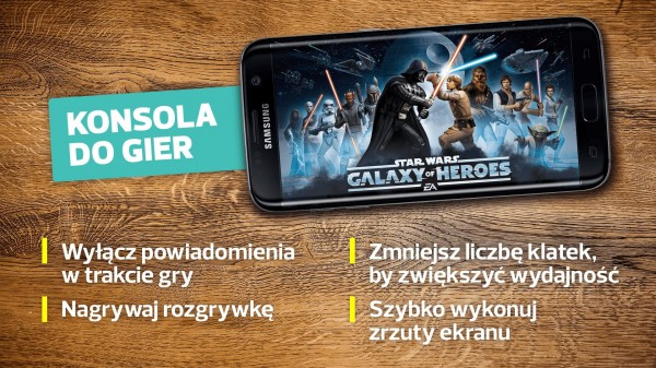 Samsung Galaxy S7 Edge - konsola do gier
