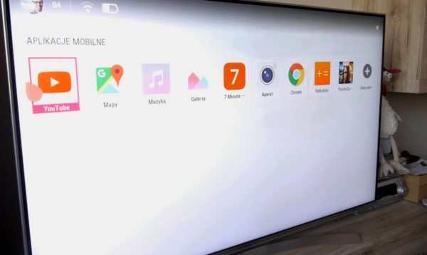 LG TV Plus - udostępnione aplikacje