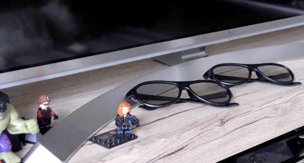 LG UH8507 - okulary
