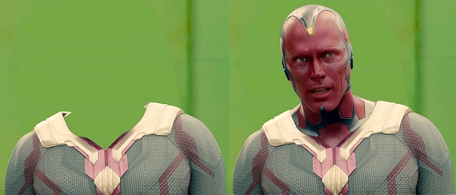 Marvel The Vision CGI