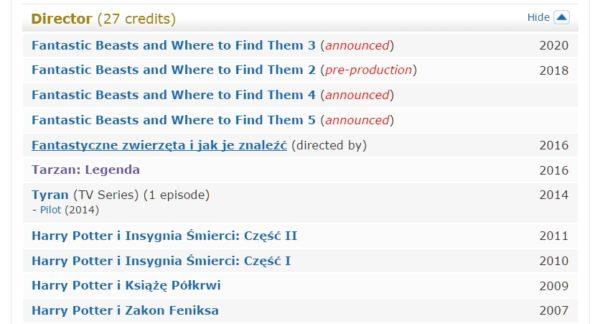 David Yates - IMDb