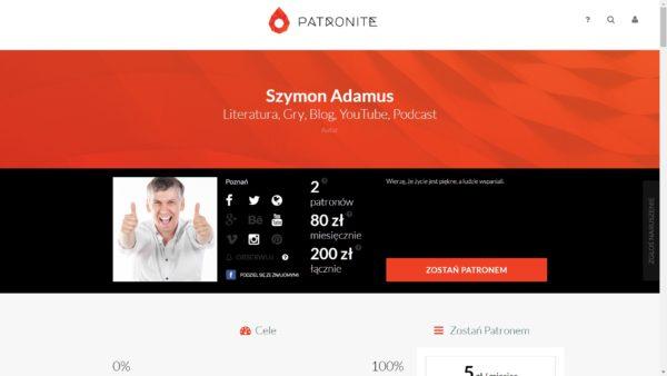 patronite-pl-szymon-adamus