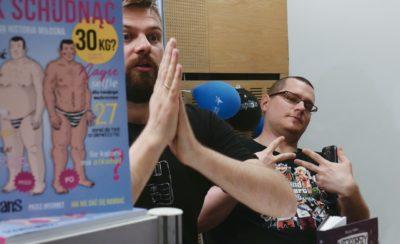 Tomek Pstrągowski i Maciej Pałka